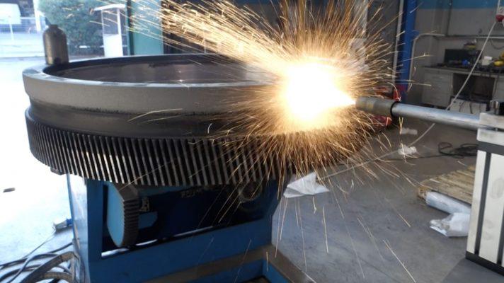 Riporto in Metallizzazione di un Ingranaggio